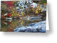 Autumn On The Black River 1 Greeting Card