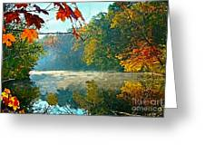 Autumn On The White River I Greeting Card