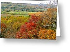 Autumn Over Look Greeting Card