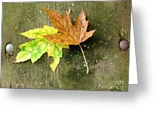 Autumn Pair Greeting Card