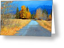 Autumn Perspective Greeting Card