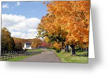 Autumn Picture Postcard Greeting Card
