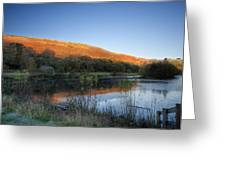 Autumn Pond 2 Greeting Card