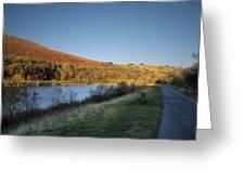 Autumn Pond 4 Greeting Card