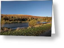Autumn Pond 9 Greeting Card