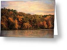 Autumn Reflections 1 Greeting Card by Jai Johnson