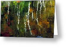 Autumn Reflections 1 Greeting Card