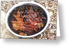 Autumn Soup Greeting Card