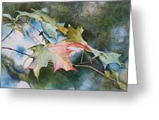 Autumn Sparkle Greeting Card