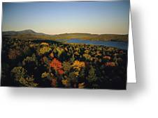Autumn View Across Baxter State Park Greeting Card