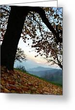 Autumn View Greeting Card by Bruno Santoro