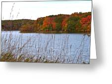 Autumn View Greeting Card