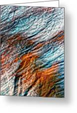 Autumn Winds Impasto Greeting Card