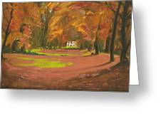 Autumn Woods 3 Greeting Card