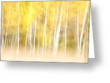Autumns Abstract Greeting Card