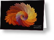 Autumn's Colorwheel Greeting Card