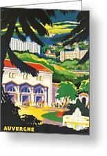 Auvergne France Greeting Card