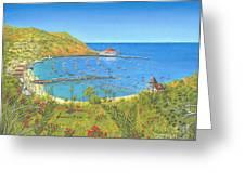 Avalon Catalina Island Greeting Card