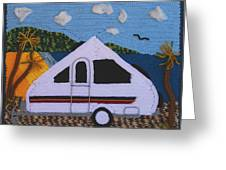 A'van By The Sea Greeting Card