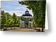 Aviary At Schonbrunn Palace Greeting Card