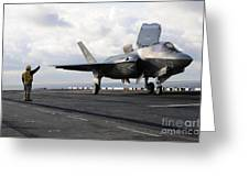 Aviation Boatswains Mate Signals Greeting Card