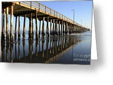 Avila Beach Pier California 2 Greeting Card