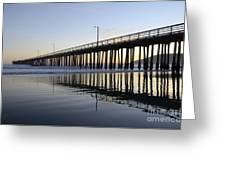 Avila Beach Pier California 3 Greeting Card