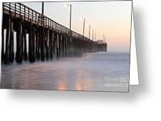 Avila Beach Pier California 5 Greeting Card