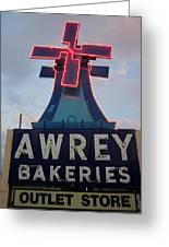 Awrey Bakeries Outlet Store Greeting Card