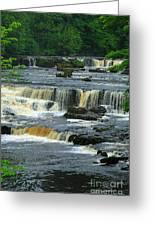 Aysgarth Falls Wensleydale Greeting Card