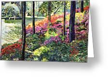 Azalea Forest Grove Greeting Card