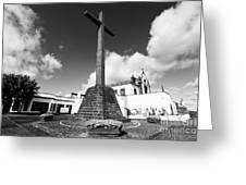 Azorean Chapel Greeting Card