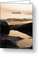 Azores Islands Seascape Greeting Card