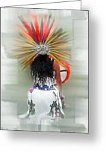 Aztec Greeting Card