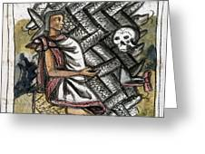 Aztec: Life And Death Greeting Card