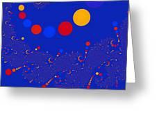 Azure Azzuro Greeting Card