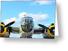 B-25j Killer B Greeting Card