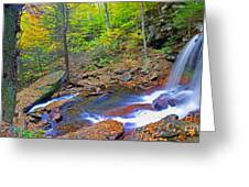 B Reynolds Falls Panorama Greeting Card