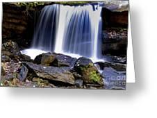 Babcock State Park Waterfall Greeting Card