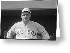 Babe Ruth 1919 Greeting Card