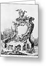 Babel: Fountain Greeting Card