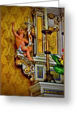 Baby Angel Greeting Card by Myrna Migala