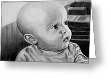 Baby Carter Greeting Card