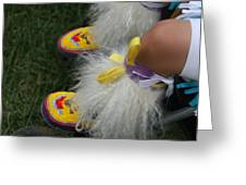 Baby Moccasins Greeting Card