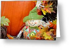 Baby Scarecrow Greeting Card