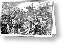 Babylonian Captivity Greeting Card by Granger