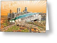 Back In Town Greeting Card by Tuan HollaBack