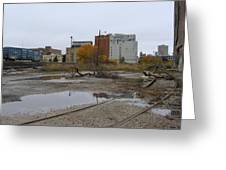 Back Of Warehouse Cold Storage 1 Greeting Card