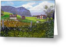 Back Roads Beauty  Sold Greeting Card