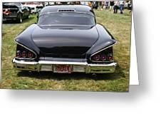 Backside Of An Impala Greeting Card